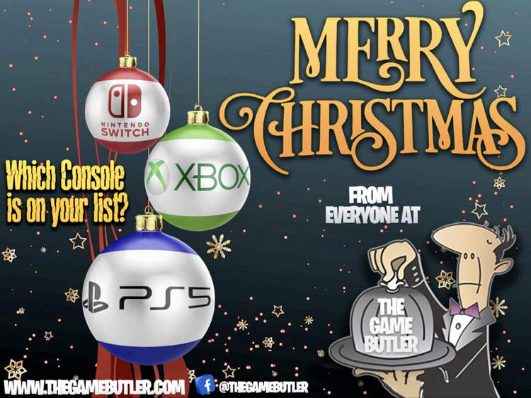 Merry Christmas from The Gamebutler